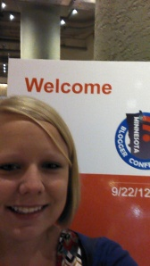 MN Blogger Conference 2012 - Me