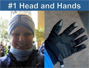 #1 Winter Running Tip Head And Hands