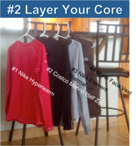 #2 Winter Running Tip: Layer Your Core