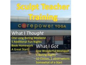 Corepower Yoga Sculpt Infographic