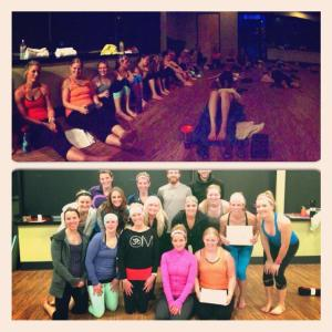 Yoga Sculpt Teacher Training Certificates