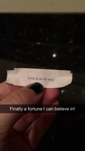fortune cookie love