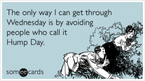 Hump Day Someecard