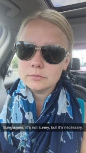 Sunglasses Selfie