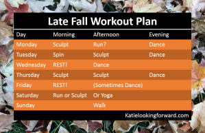 Late Fall Workout Plan