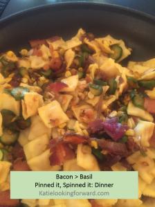 bacon basil dinner