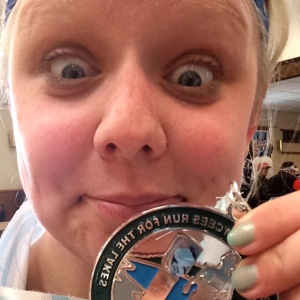 Run for the Lakes Half Medal